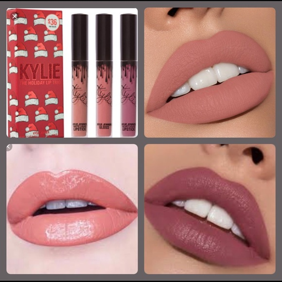 The Holiday Lip Trio by Kylie Cosmetics #3